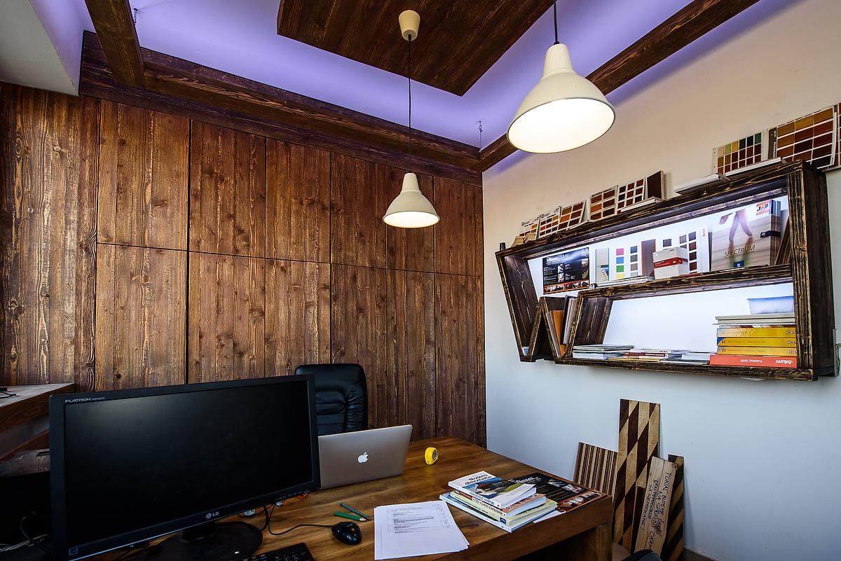 Montage und Innenausbau für die Büroeinrichtung
