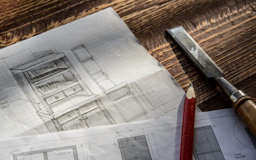 Planung der Montage mit der Bautischlerei in Telfs Wilmont GmbH