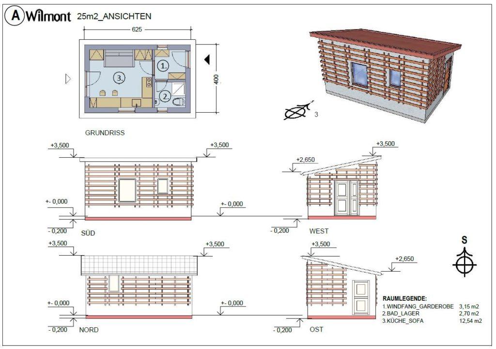 Mikrohaus Hausbau in Tirol Österreich